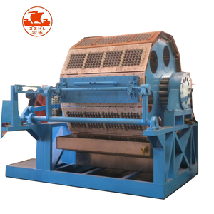 Low Cost 3000-6000pcs/h Fully Automatic Paper Pulp Egg Carton Box Tray Making Machine