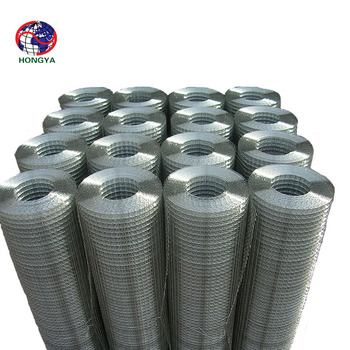 "China anping 3/4""Inch Galvanized Welded Wire Mesh / Bird Cage Welded Wire Mesh Roll / 1/4"" x 1/4"" Hot Dipped galvanized welded"
