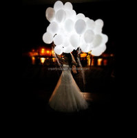 New Arrival Factory Direct Cheapest Hot Selling Wedding Decoration LED white Balloons