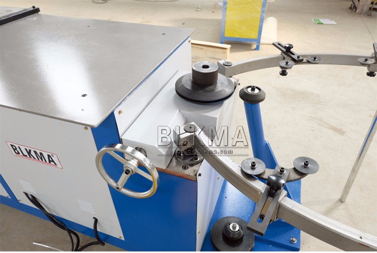 HVAC Electric Round Duct Elbow Making Machine