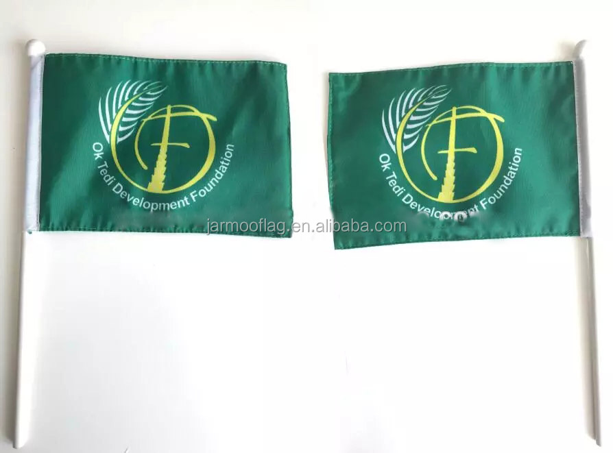 Polyester/Paper/ Plastic Polyester Mini Country Flags American Handing Flag