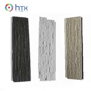 Pu Faux Easy Installation Plastic Stone Wall Panel