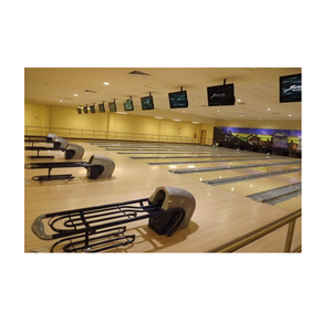 bowling alley lane synthetic bowling lanes amf / brunswick bowling lane