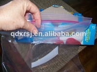 Ziploc brand double zipper storage bags for freezer