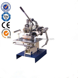 TJ-1very cheap Manual hot stamp plate type gilding press hot foil stamping machine for leather paper card