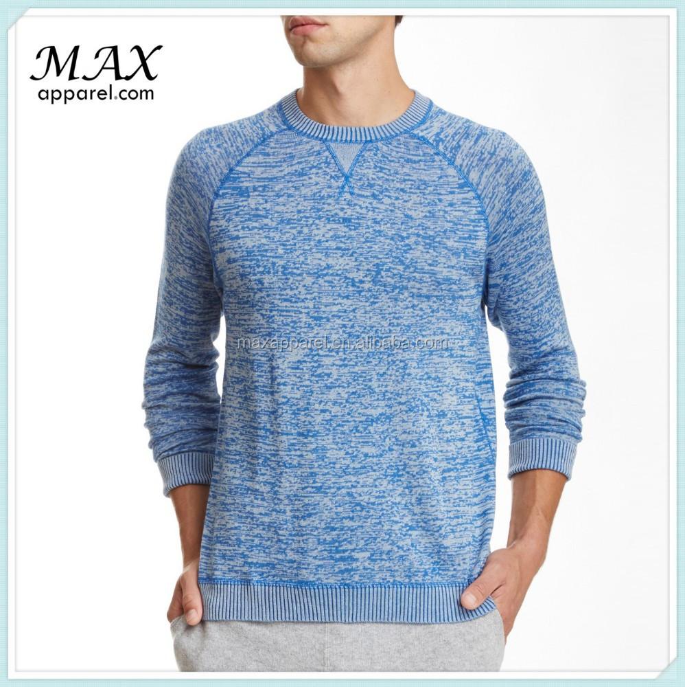 Custom Mens French Terry Sweatshirt Wholesale Raglan Sleeve ...