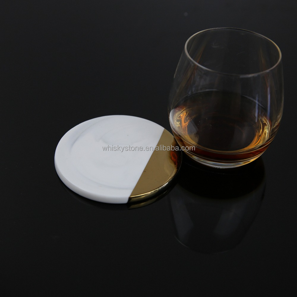 Promotional gift round absorbent ceramic coaster