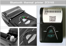 ZCS103 best price bluetooth thermal printer receipt printer