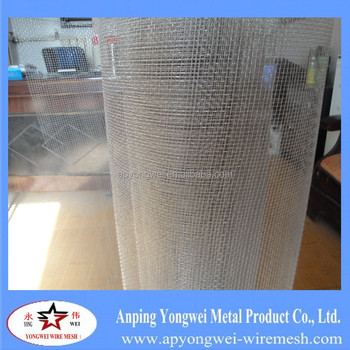 Hot Dipped Galvanized Square Wire Mesh/coffee Tray Wire Netting ...