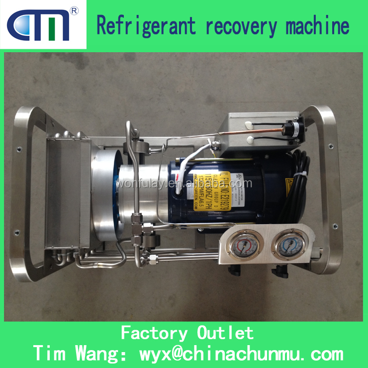 CMEP-OL refrigerant recycling machine silver explosion proof recovery machine