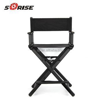 high quality folding tall director chairs for beauty chair salon