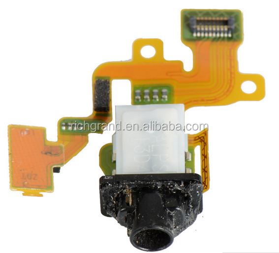 Audio Headphone Jack Flex Cable For Sony Xperia Z3 Mini Compact D5803 D5833