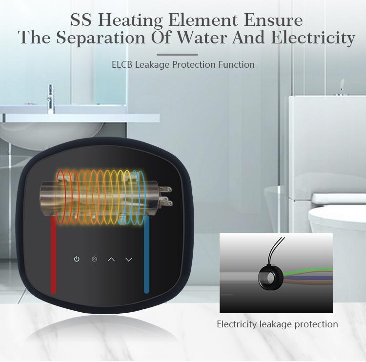 3000 Вт Ванная комната Электрический Проточный портативный водонагреватель для K30_05.jpg