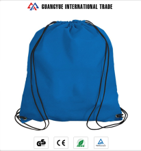 Guangyue Factory Manufacturer Natural Cotton Draw String Backpack Bag