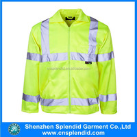 Industrial work wear uniform/Hi Vis Cotton Drill Work jacket