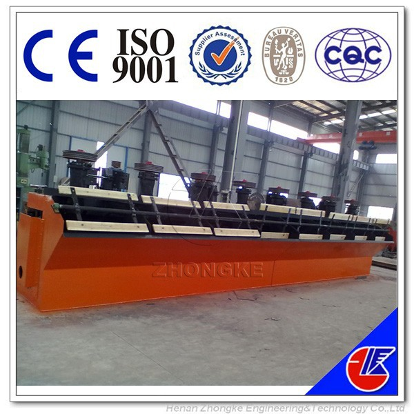 Gold flotation machine for metal mineral and non metallic mineral