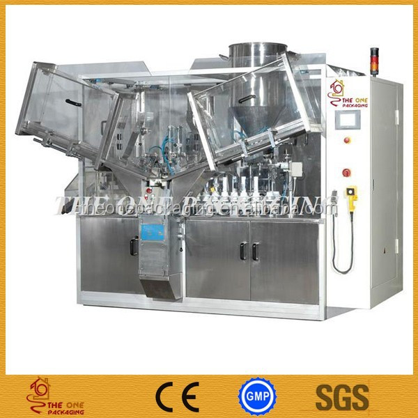 automatic tube feeding machine Tube Filling and Sealing Machine TOFS-120