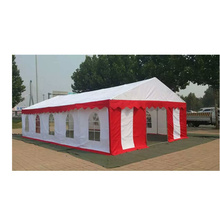 Salon commercial promotionnel PVC mariage 6*6 m 6*12 m partie center tente pôle