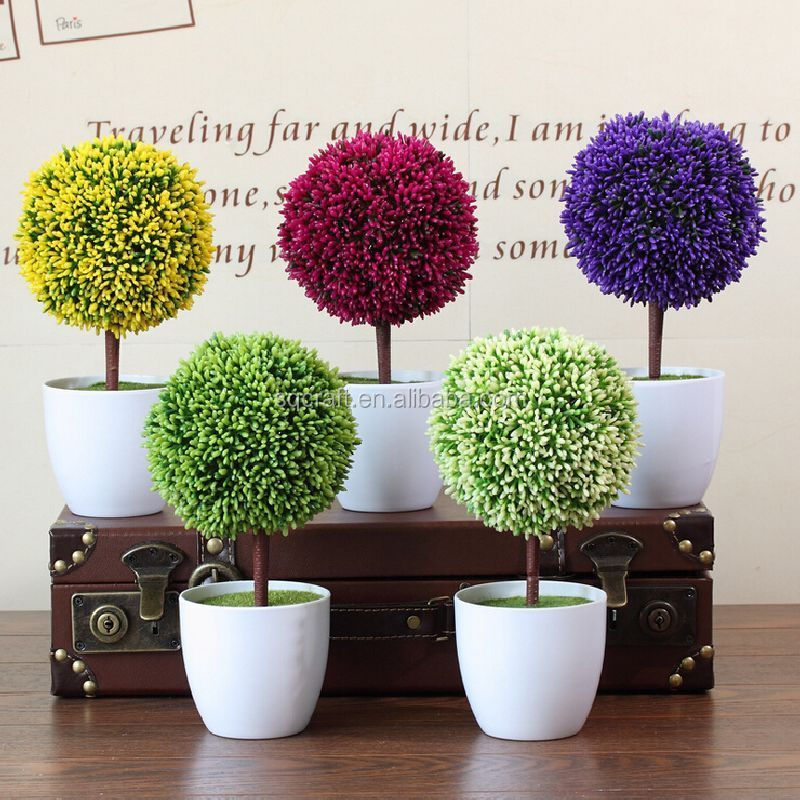 artificial flower tree fake bonsai for indoor office decoration giftssimulation lucky flower tree bonsai tree office