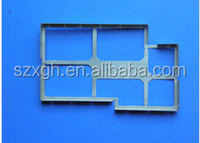 Good quality precision stamping emi pcb shielding box for mobile phone