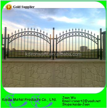 Decorative beautiful short wrought iron fence on wall design view decorative beautiful short wrought iron fence on wall design workwithnaturefo