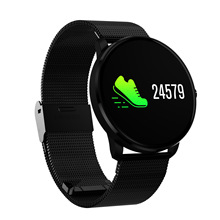 Cinturino in acciaio <span class=keywords><strong>Bluetooth</strong></span> Smart Watch in CF007H Impermeabile Braccialetto Intelligente Monitor di Frequenza Cardiaca Di Natale Per Il Fitness Tracker Wristband