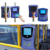 China Smart RFID Bus POS Validator With NFC reader For Automated AFC Fare Collection