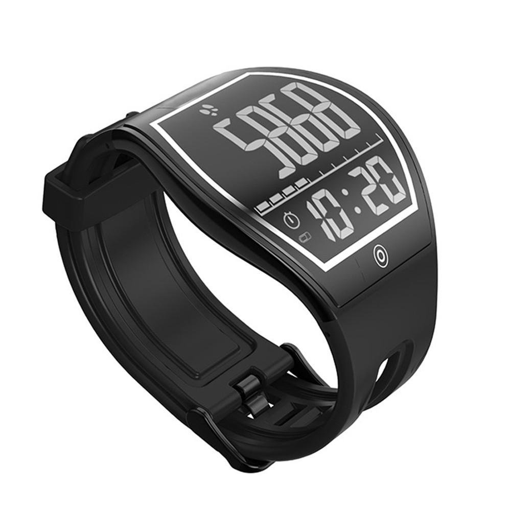 KOBWA Fitness Tracker Watch Pedometer Sleep Monitor Smart Bracelet Calories Track Distance Calculate Bluetooth 4.0 Waterproof Smart Watch for IPhone and Android Phones