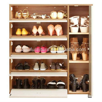 Modern Stylish Wooden Shoe Racks Furniture Beautiful Cabinet