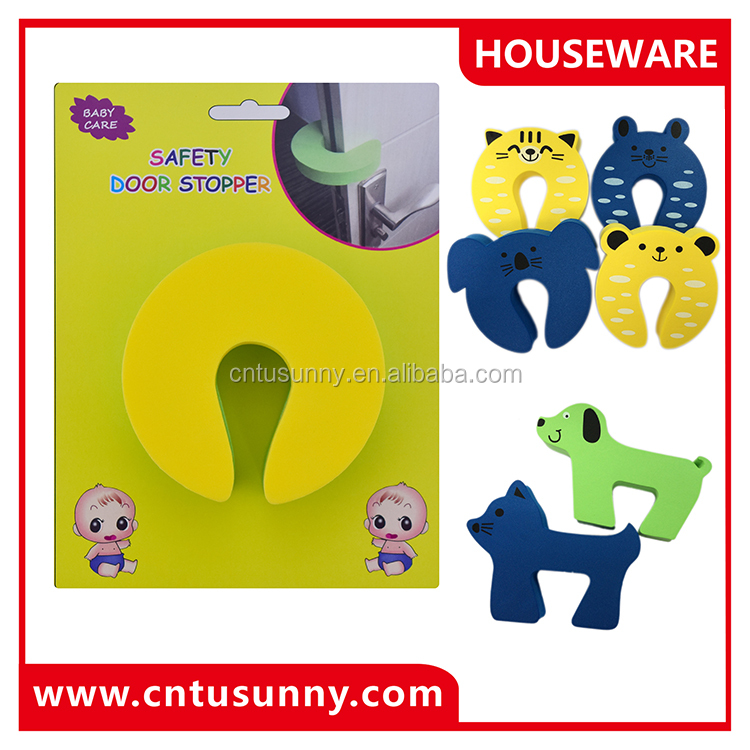 Baby Cute EVA Door Stopper Products Free Samples