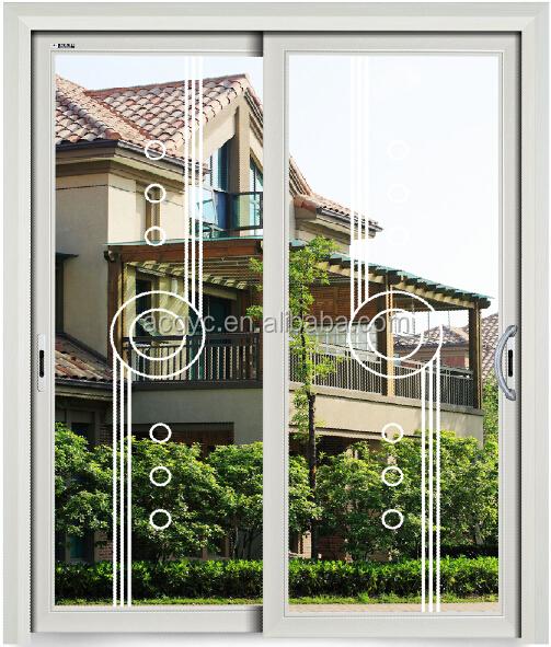 Esterno commerciale porta di vetro alluminio francese - Commercial aluminum exterior doors ...