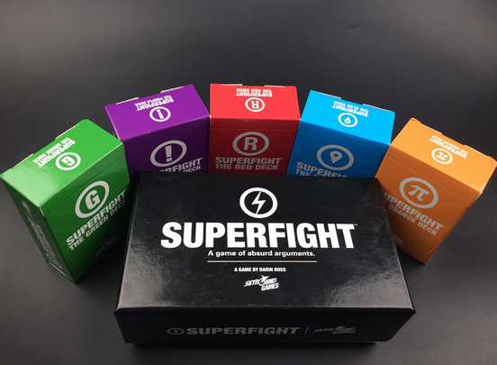 New Against Humanity Superfight Full Base Set Pack Party Game cards