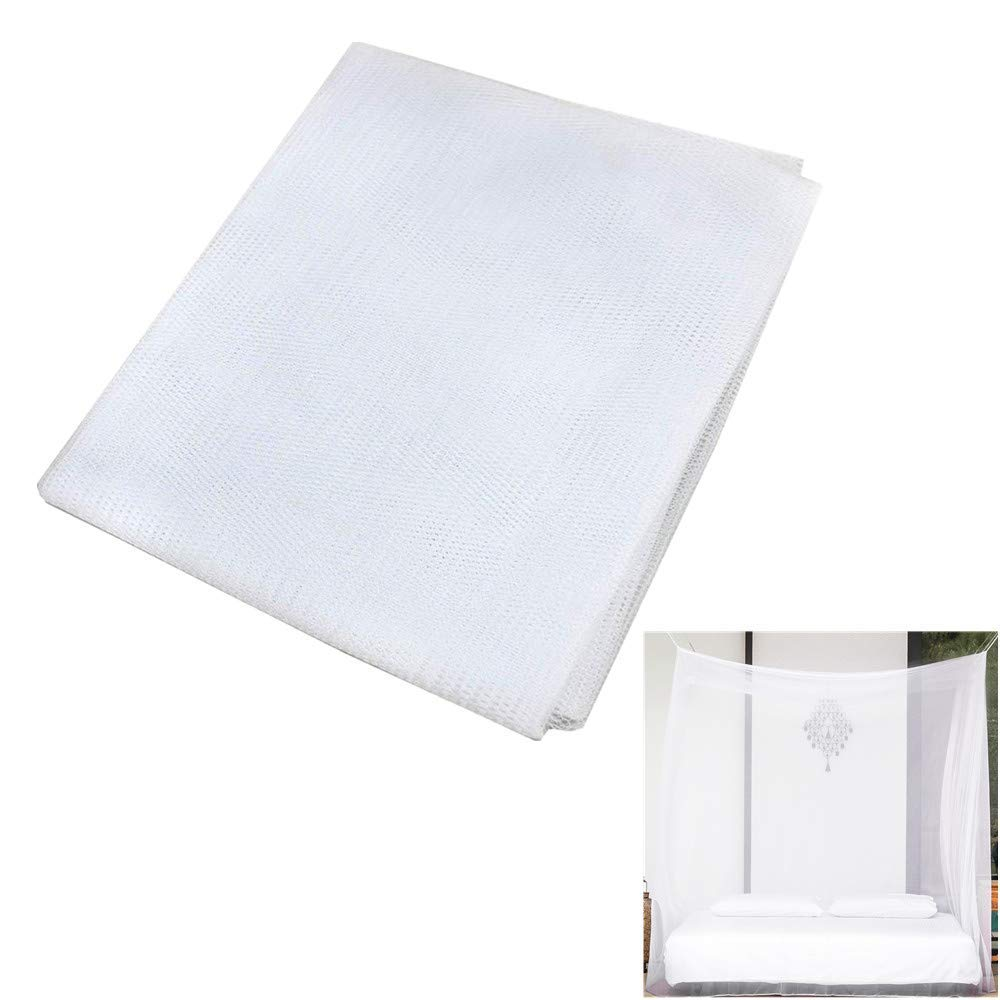 PURUIMA Mosquito Net Insect Barrier Netting DIY Fabric Bug Netting Home/Camping/Travel, White, 10ft x 54""