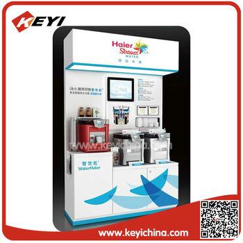 Detachable pop Advertising Flooring Home Appliances Display Stands ...