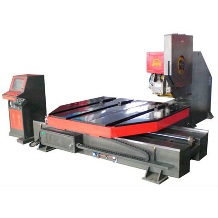 CNC hydraulic punching hole machine for platform with long-term stability