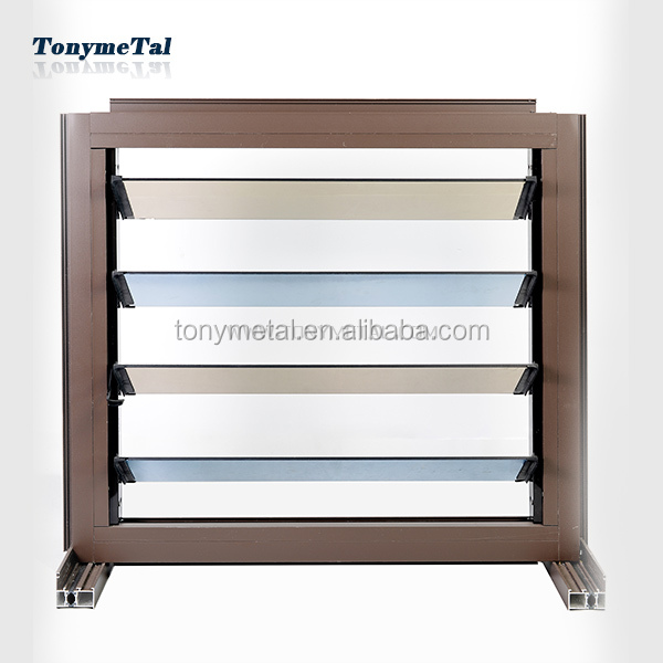 Practical glass window louvers super louvre blades