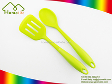 Hot selling eco-friendly colorful silicone kitchen utensils/silicone spatula/turner/silicone spoon