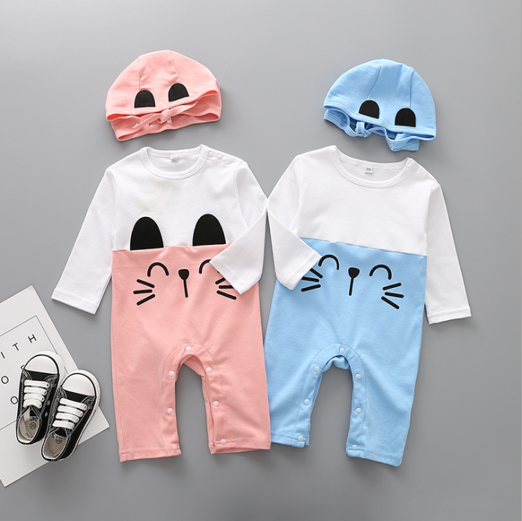 Baby Newborn Baby Clothing Set Cotton Baby Rompers Hat 2pcs Cartoon Jumpsuit Cute Animal Infant Boys Girls Clothes Buy Baby Rompers Hat 2pcs Bbay Jumpsuit Product On Alibaba Com