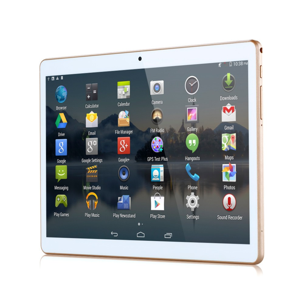 cheap 9.6 inch 1280 * 800 IPS tablet 10 octa core mtk6592 3 G, 4 g phone call tablet 4GB/64GB dual sim