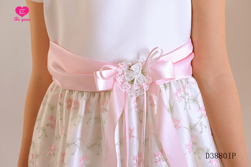 D3880IPThe new  flower girl dress long girls party dress D3880IP