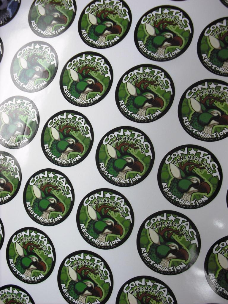 Label Security Stickers Waterproof MaterialHologram Sticker - Custom vinyl decals printing