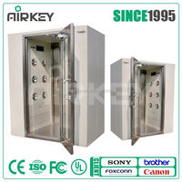 All Stainless Steel single person air shower