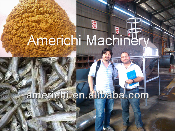 High protein fishmeal production plants