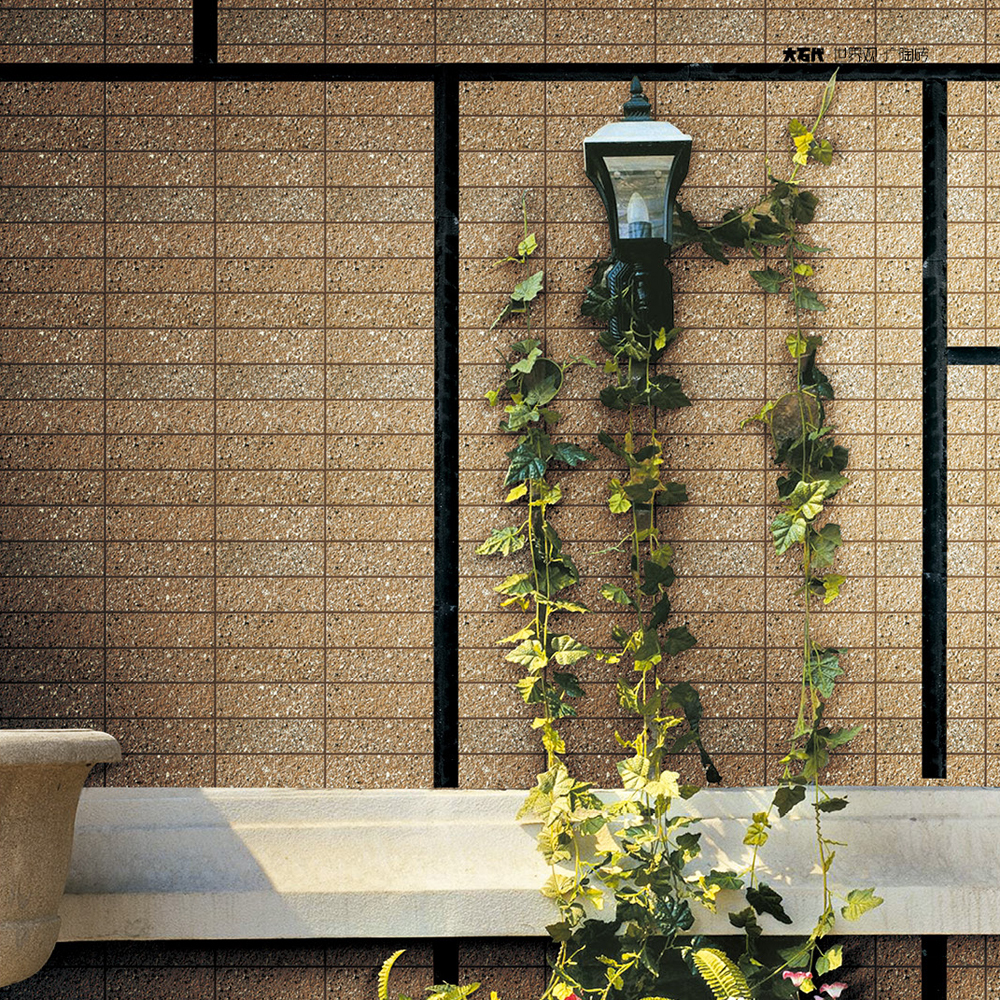 Decorative bathroom outdoor nature marble style elegant for Wall design outside house