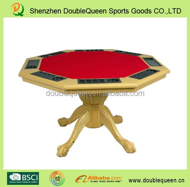 Octagon Wood Poker Table, Octagon Wood Poker Table Suppliers And  Manufacturers At Alibaba.com