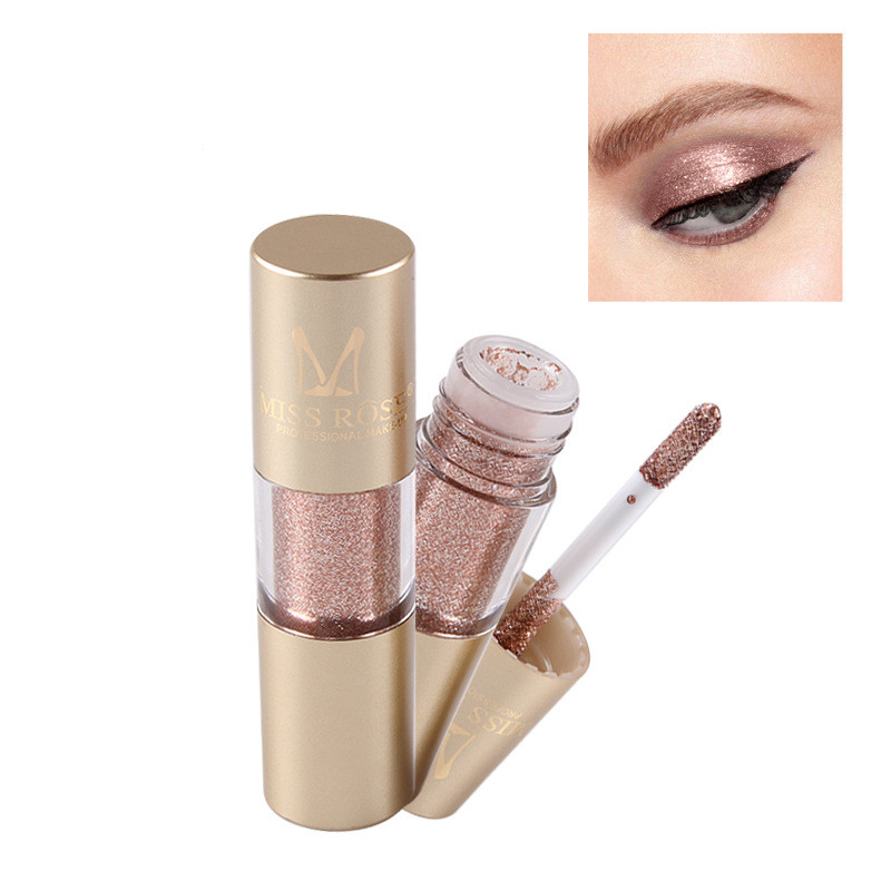 Private Label Liquido Glitter Metallic Eye Shadow Brillante liquido ombretto 8 colori