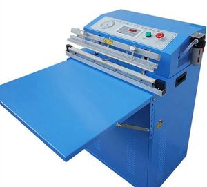 Electric External Vacuum Packer Vacuum Packaging Smoked Chicken Machine For Food Production Workshop