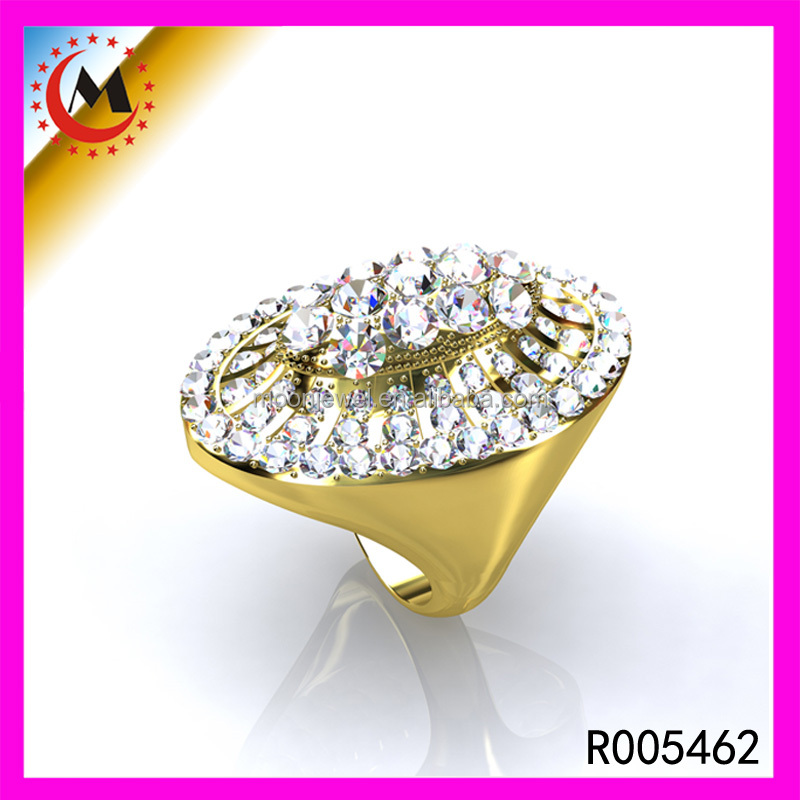 Topshop Wholesale Price Gold Jewelry Ring Bijoux Nickel Free