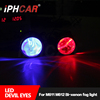 IPHCAR Popular Fog Light with LED Devil Eyes for Auto & Motorcycle