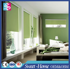 Horizontal blockout aluminum roller blind for window treatments